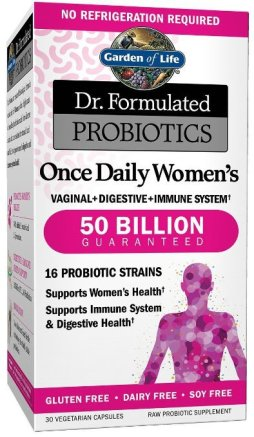 Boosting your immunity with better gut health - Garden of life once daily women s probiotic ...